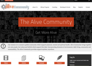thealivecommunity.com-homepage